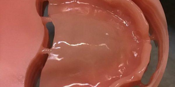 Milling full denture in Idensol